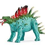 TOEY PLAY Stegosaurus Figuras Dinosaurios, Dinosaurio Juguete con Luces y Sonidos Movimiento, Educativas Regalo Niño Niña 3 4 5 Años