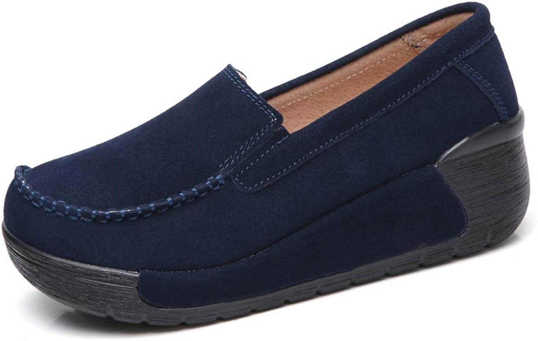 ad78ed260 T-JULY Autumn Spring Moccasins Women Flats Fashion Flat Platform shoes  Women's Loafers Ladies Slip