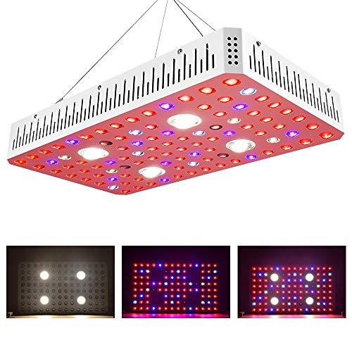 2000W COB LED-Zuchtlampen, Vollspektrum VEG BLOOM Switch Phyto Lamp Gewächshauszeltzuchtleuchten für Zimmerpflanzen