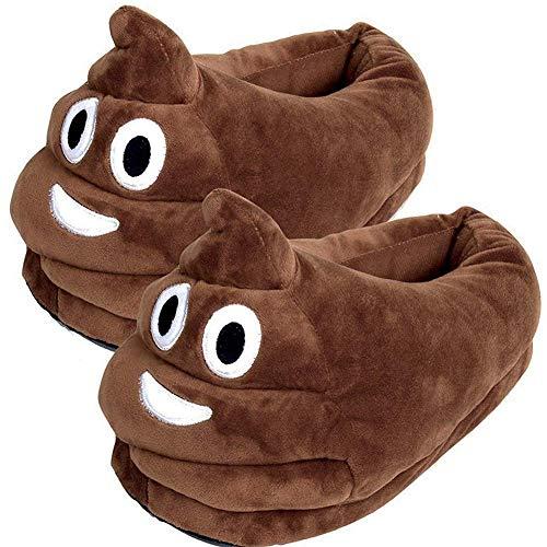 5. Poop Emoji Slippers