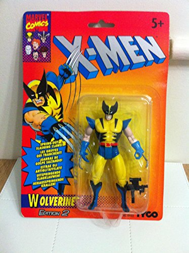 Toy Biz Marvel The Uncanny X-Men Wolverine Action Figure (2nd Edition) 4.75 Inches