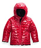 The North Face Toddler Girls' Reversible Mossbud Swirl Jacket, TNF Red, 3T
