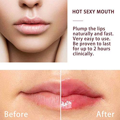 Lesnic Full Lip Plumpers DeviceSexy Enhancer Mouth Beauty Lip Pump Enhancement, Pump Device Quick Lip Plumper Enhancer (Red Plumper)
