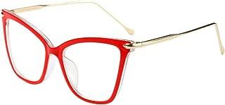 FRAUIT Unisex Uomo Donna Occhiali Anti Raggi Blu Occhiali Nerd Quadrati Occhiali Da Vista Con Lenti Montatura Leggera In Plastica