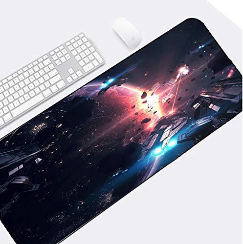 Computer Mouse Mooie Universum Space Star Wars Space War Beelden afdrukken Mousepad Note Book Pc Laptop Game Gaminmg Muizen Mat 900 * 400 * 3Mm