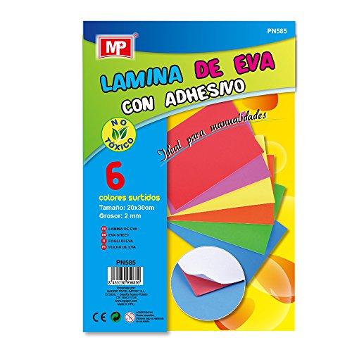 MP PN585 - Paquete de 6 Laminas Eva con adhesivo