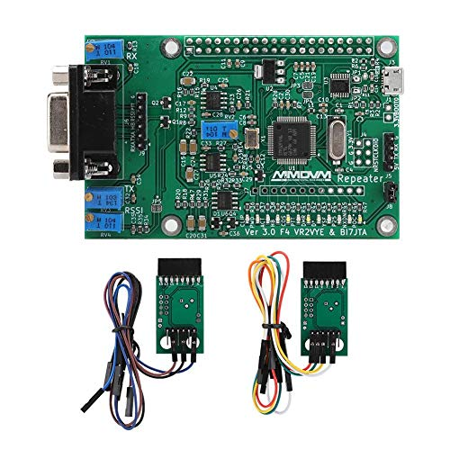 Zopsc Digital Trunk Board with Expansion Board for Raspberry Pi GS68 MMDVM DMR Repeater, Support for Upgrades via for ST-Link, USB, GPIO.