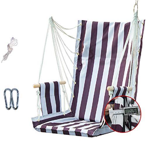 Balançoires YXX Chaise hamac Suspendu Corde for Se Balancer, Hamac chaises for Les Enfants Chambre, Jardin, Chambre, Porche, Intérieur/Extérieur - Capacité 100 kg