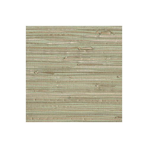 York Wallcoverings NZ0780 Sea Grass Grasscloth Wallpaper, Pale Green, Cream, Beige, Tan, Brown