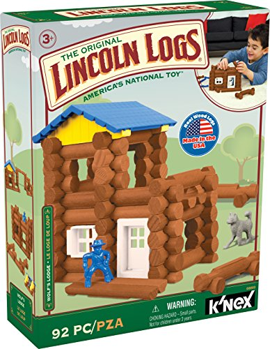 Lincoln Logs Wolf's Lodge - 92...