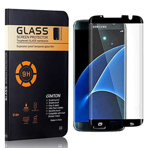 GIMTON Verre Trempé pour Galaxy S7 Edge, sans Poussière, Ultra Transparent, Dureté 9H Protection en Verre Trempé Écran pour Samsung Galaxy S7 Edge, 3 Pièces