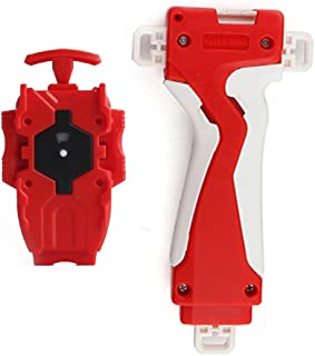 LINKDOO Lost Bey papidity Blade Burst Launcher Grip Tools Red/B-40/Compatible with String & Ripcord Launcher New and BeyLauncher Battling Top Burst String Launcher Top Burst B-16 Bey Launcher White