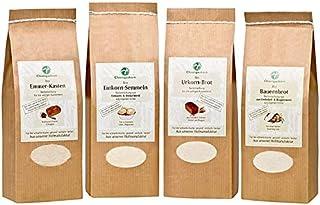 Chiemgaukorn Bio Brotbackmischungen-Set, 1 x 550 g, 3 x 520 g