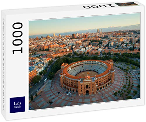 Lais Puzzle Vista aérea de la Plaza de toros de Madrid Las Ventas 1000 Piezas