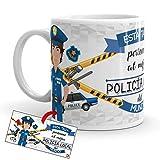 Kembilove Taza de Café del Mejor Policía Local del Mundo – Taza de Desayuno para la Oficina –...