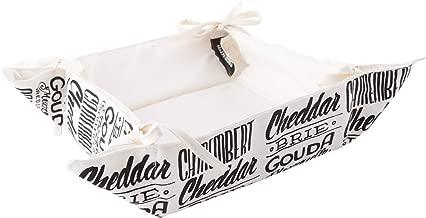 CreativeTops Gourmet Cheese Bread Basket