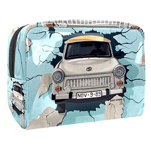 Art Car Travel Toiletry Bag, Waterproof Travel Bags, Toiletry Bag for Women and Girls