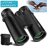 Cayzor 12x42 Binoculars for Adults – HD Professional Binoculars for...
