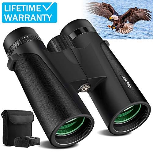 Lowest Price! Cayzor 12x42 Binoculars for Adults – HD Professional Binoculars for Bird-Watching Tr...