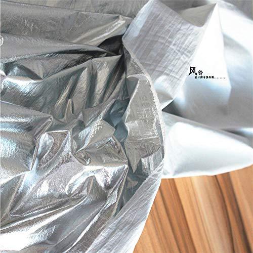 Towar sprzedawany na metry jako materiał dekoracyjny, powłoka lustrzana, brak elastyczności, lepsza niż tworzywo TPU sztuczna skóra PU, pokryta srebrem (0,5 m)