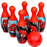 SARJUDAS ENTERPRISE Bowling Game Set for Kids with 6 Pin 1 Ball Sport Toys Gift for Baby Boys Girls Age 3 4 5 6 Years Old.