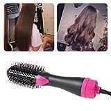 Weishazi - Secador de pelo infrarrojo profesional para peluquería, alisador, da volumen y estilo al cabello en un paso