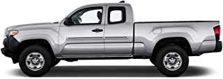 Dawn Enterprises CI2-TACAC Color Insert Body Side Molding Compatible with Toyota Tacoma - Blazing Blue Pearl (8T0) with Black Insert (02)