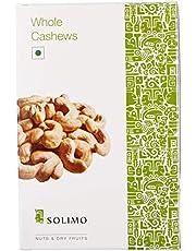 Amazon Brand - Solimo Premium Cashews, 500g