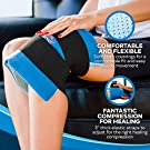"""Knee Ice Pack Wrap (11"""" x 12"""") by Cool Relief - Flexible Cold Pack Wrap For Long-Lasting Superior Knee Compression - Knee Ice Pack Wrap For Joint Pain Relief & Faster Injury and Surgery Recovery #4"""