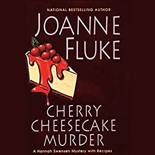 Cherry Cheesecake Murder                   By:                                                                                                                                 Joanne Fluke                               Narrated by:                                                                                                                                 Suzanne Toren                      Length: 10 hrs and 27 mins     342 ratings     Overall 4.4