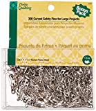 Dritz Quilting 3032 Curved Safety Pins for Large Projects, Bonus Pack, Size 1, 300 Count