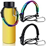 KATUMO 2 Pack Paracord Handle for Hydro Flask Wide...