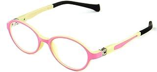 Cyxus anti luz azul gafas para niños de 5-10 años [peso ligero flexible] (lentes transparentes) anti fatiga de ojos gafas sin grados