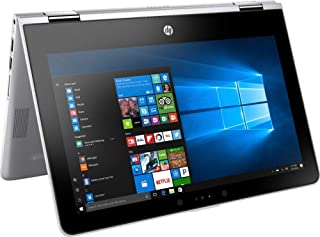 HP Pavilion x360, Premium 2019 Flagship 11.6 inch HD IPS Touchscreen 2 in 1 Laptop, Intel Quad-Core Pentium Silver N5000, 4GB DDR4, 500GB HDD, HD Webcam Bluetooth 4.2 802.11ac USB 3.1 HDMI Win 10