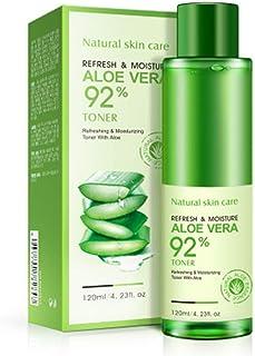 BIOAQUA 92% Aloe Vera Refresh Moisturizing Toner Natural Plant Skin Care 120ml