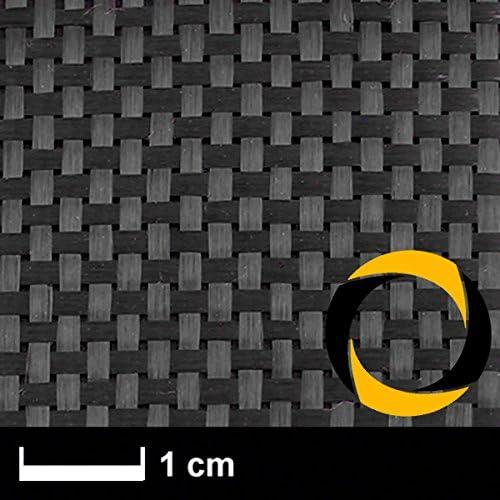 Ascending Composites Kohlegewebe 160 g m2 (Aero, Leinwand) 100 cm, Rolle 2 m