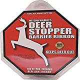 Messina Wildlife Messinas DB-R-100 Deer Stopper 100' Barrier, 4.8 oz, Black Ribbon
