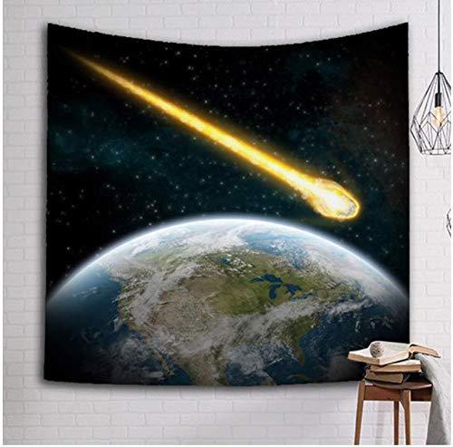 Galaxy Star Imprimé Tapisserie Mur Arts Moderne Tenture Murale Tapis De Plage Serviette Couvertures Tapis De Plage Couvre-lits Enfants Cadeau 200 * 150 Cm