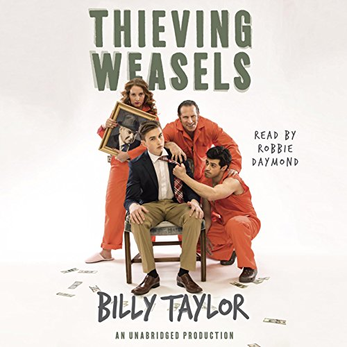 Thieving Weasels audiobook cover art