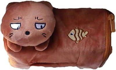 LIULIJUN 短い豪華なクリエイティブティッシュボックスかわいい漫画室内装飾動物人形 (Color : C)