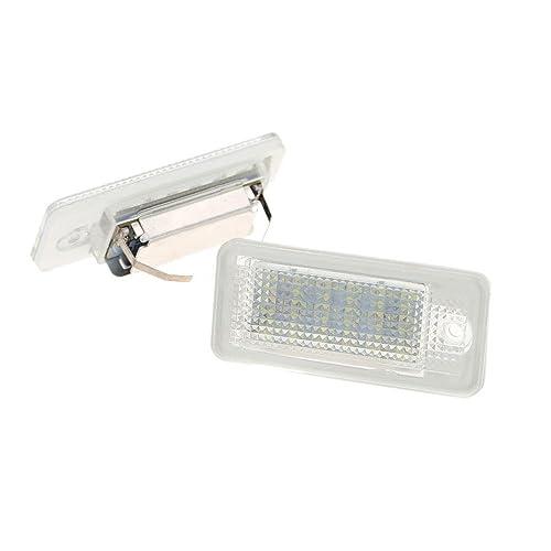 LED Luz De Placa 24-SMD Lámpara Diurna Blanca Para Audi A4 S4 B6 B7