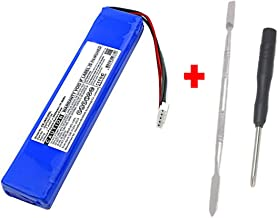 High Capacity Replacement Battery + Tool + Guide (Link) for JBL Xtreme Extreme Portable Bluetooth Speaker 5000mAh Li-Polymer JBL GSP0931134 Repair Power