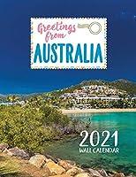 Greetings from Australia 2021 Wall Calendar