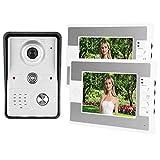 Videoportero Timbre Visor de Puerta Control de Cerradura eléctrica 100-240V, para Sistema de Entrada, para(European regulations)