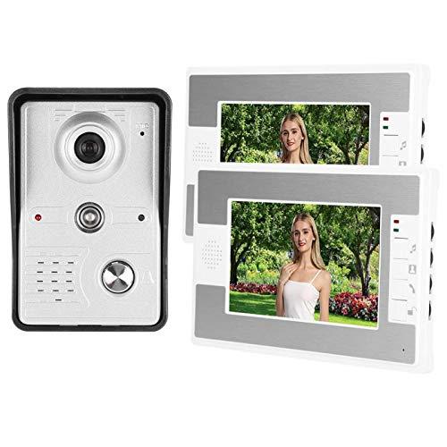 Videoportero Timbre Visor de Puerta Control de Cerradura eléctrica 100-240V, para Sistema...