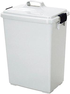 トンボ ゴミ箱 45L 日本製 本体 日本製 フタ付 グレー 新輝合成