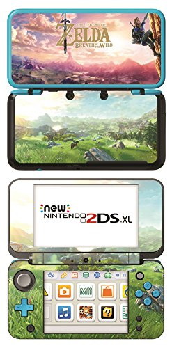The Legend of Zelda: Breath of the Wild Game Skin for New Nintendo 2DS XL Console 100% Satisfaction Guarantee!