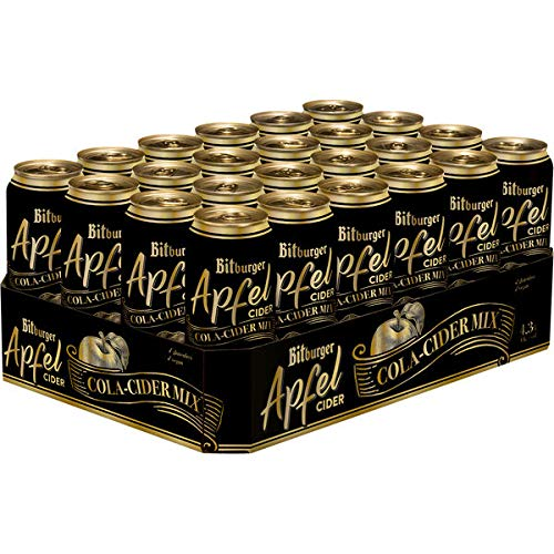 Bitburger Apfel Cider Cola 24 x 0,5 Liter