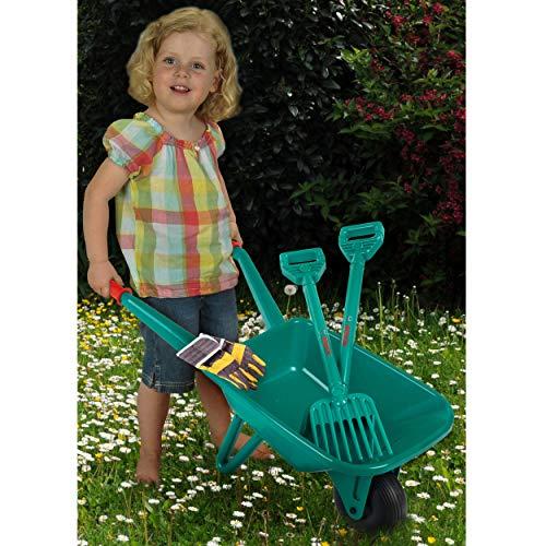 Theo Klein 2752 – BOSCH Gartenset mit Schubkarre, 4-teilig, Spielzeug - 2