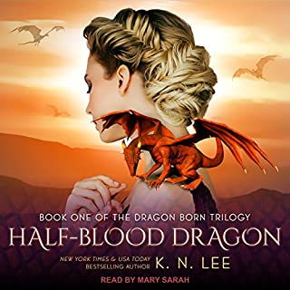 Half-Blood Dragon audiobook cover art